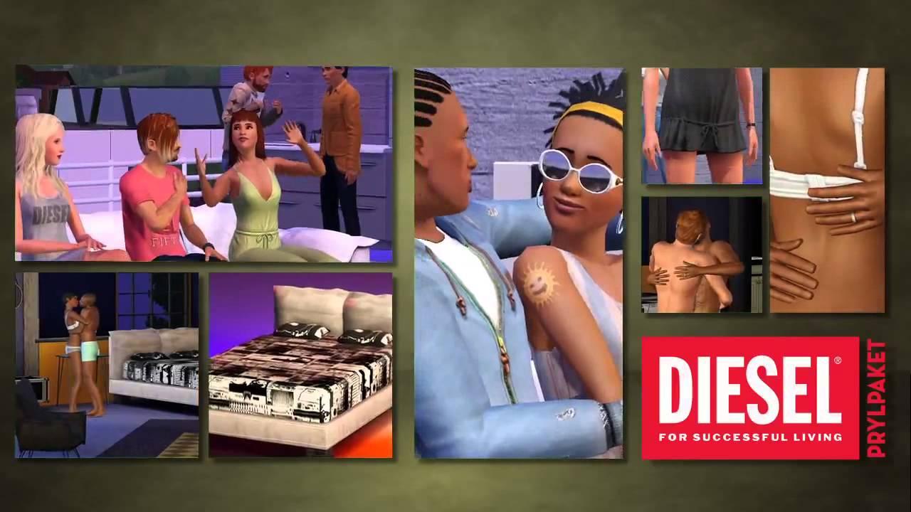 The sims 3 diesel prylpaket   youtube