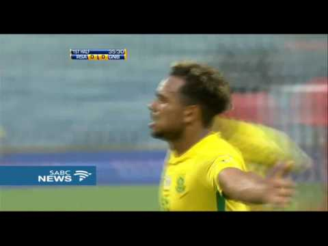 Bafana Bafana ease past Guinea Bissau in an international friendly