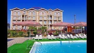 ДОМИНИКА гостевой дом Guest House Dominika Береговое Крым обзор отеля территория