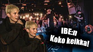 IBE LIVE @Ääniwalli 20.10.2018