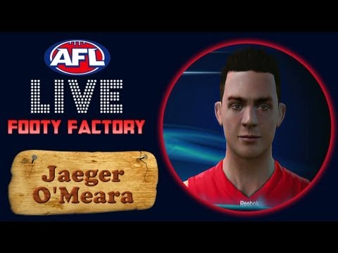 AFL Live Footy Factory | Jaeger O'Meara