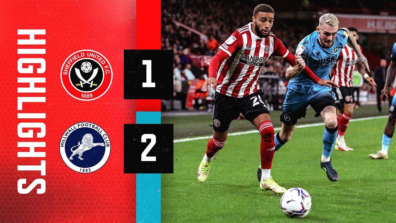 Sheffield United 1-2 Millwall   EFL Championship highlights   Cooper goal downs Blades