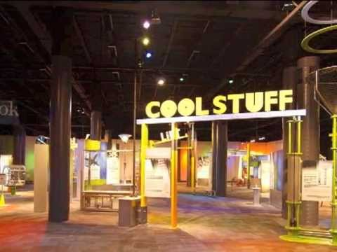 Cool Stuff at Discovery Place, Charlotte, North Carolina