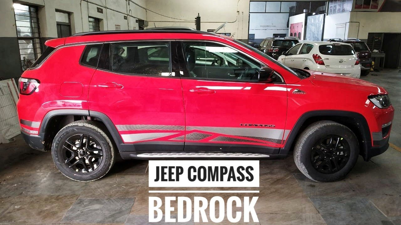 Jeep Compass Bedrock Edition Walkaround Jeep In 20 Lakh Now