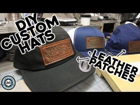 DIY Custom Hats