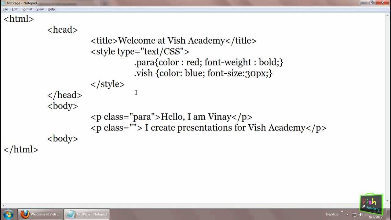 Style tag -- HTML Head Section in Hindi (part 2/5) [ html ...