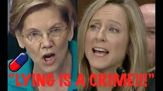 """LYING TO CONGRESS IS A CRIME!!!"" Elizabeth Warren GETS PISSED OFF & DESTROYS Trump Nominee"