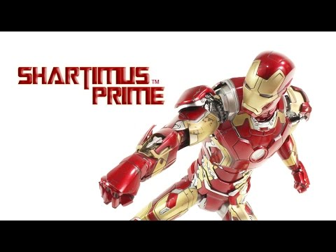 Hot Toys Mark 43 XLVIII Iron Man 1:6 Scale Avengers Age of Ultron MMS 278 Movie Action Figure Review