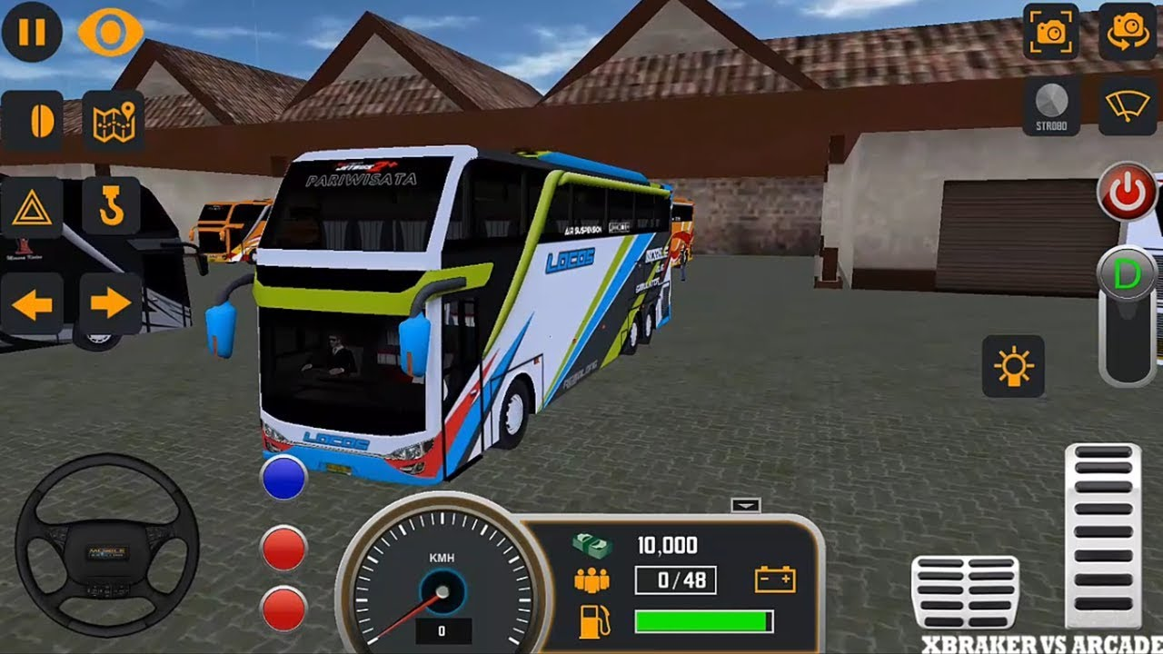 Mobile Bus Simulator 2018 Bus Transporter Android Game Play