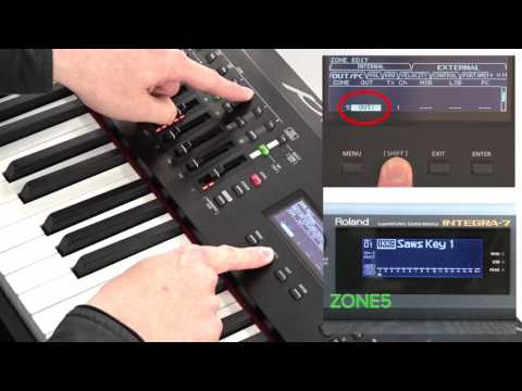 """Using an External Connected MIDI Device or Computer"" Roland RD-2000 #15"