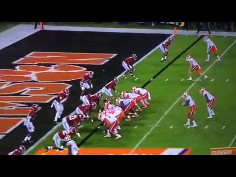 MOMENT Clemson Tigers win national championship 2017