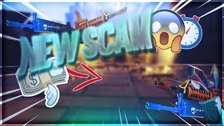*NEW SCAM* Pick UP 100 Weapons! In A SECOND! INSANE New Scam Method! Scammer Gets Scammed Fortnite