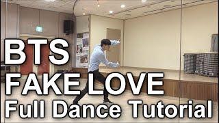 방탄 안무 배우기 BTS(방탄소년단)-FAKE LOVE (Full Dance Tutorial)mirrored(거울모드) 갓동민.황동민(goddongmin)