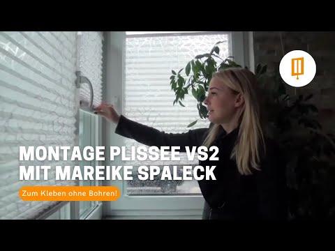 Selbst ist die Frau II - Montage Plissee VS2 KL zum Kleben mit Mareike Spaleck