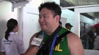 Deportistas extranjeros, enamorados de Cali en los Juegos Mundiales 2013