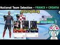 Monday National Team Selection - France + Croatia || Pack Opening 🔥 || Pes 2021 Mobile