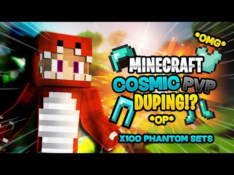 DUPE ON COSMICPVP TEST SERVER! *DUBS OF PHANTON AND CC