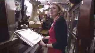 Catherine Southon Big Bum Bends Over Antiques Roadshow