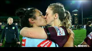 Nation Football - Ist Womens State of Origin - Melbourne Storm Sporting Award