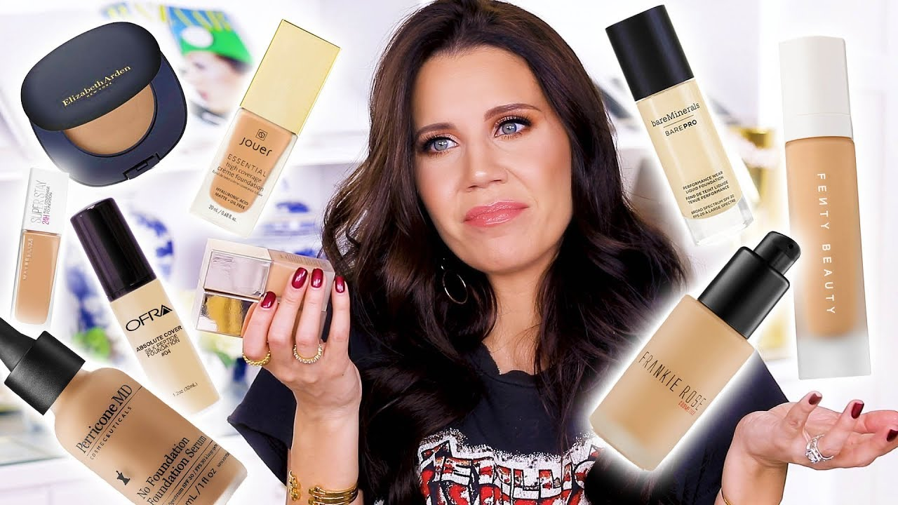 AWFUL NEW FOUNDATIONS     and ONE GOOD ONE      YouTube AWFUL NEW FOUNDATIONS     and ONE GOOD ONE