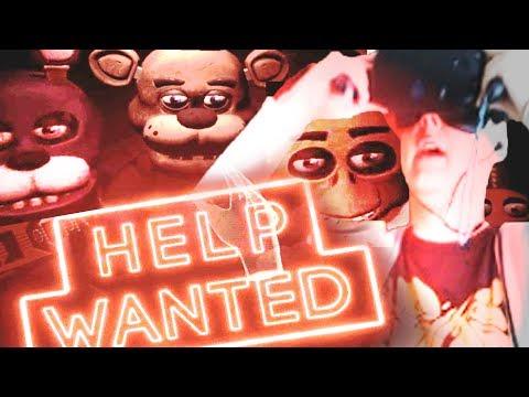 ФНАФ 8 VR ВЫШЕЛ! - Fnaf Help Wanted Прохождение