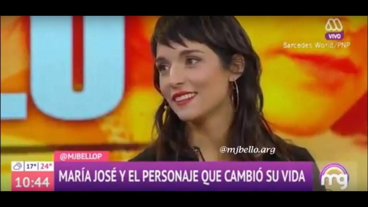 María José Bello en Mucho Gusto - Parte 1