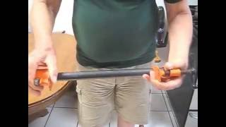 Making a pipe clamp
