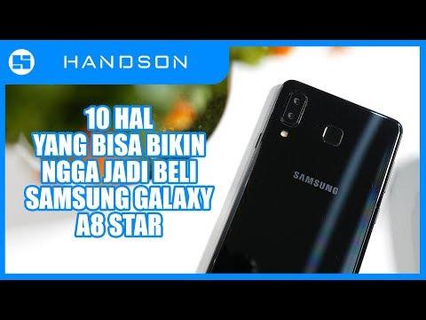 JANGAN BELI SAMSUNG GALAXY A8 STAR KALO BELOM NONTON