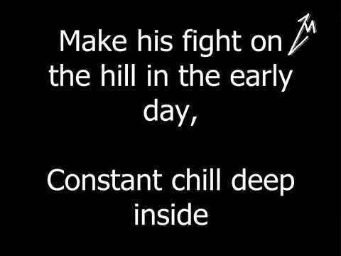 Metallica - For Whom The Bell Tolls (With Lyrics)