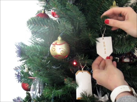 Christmas diy 2 decorazioni natalizie con il das youtube for Youtube decorazioni natalizie