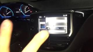 peugeot video interface android integrated smart box