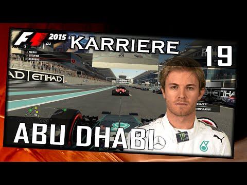 "F1 2015 Challenge #019 Abu Dhabi[German|HD+|PC|WHEEL CAM|TV CAM] ""Last to First Season"""
