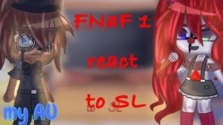 FNaF 1 react to Sister Location   bad  FNaF   My AU  
