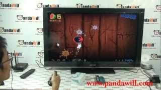 $36 Mini Android PC Android 4.0 TV Box VS Rii R900 Professional Air Mouse Presenter Hands On