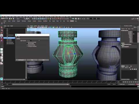 Maya Quadrangulate Workflow