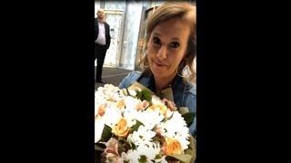 Ксения Собчак на премьере песни ВОДИЦА Ольги Бузовой))