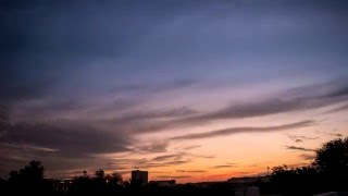 TIMELAPSE - ORANGE SUNSET | Spectacular TIMELAPSE | Dubai
