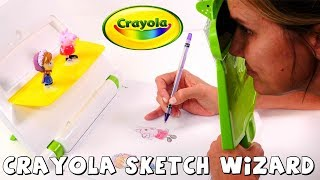 Crayola Sketch Wizard Toy Opening and Art Drawing Demonstration | The Amy Jo Show DCTC Toy Video