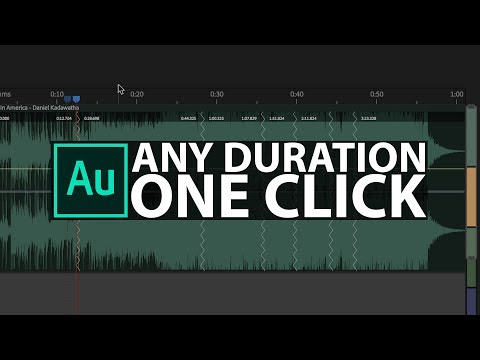 Audition: How to make a Song ANY Duration with ONE CLICK!