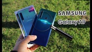 Samsung'un yeni nesil 4 arka kameralı telefonu Samsung Galaxy A9 in...
