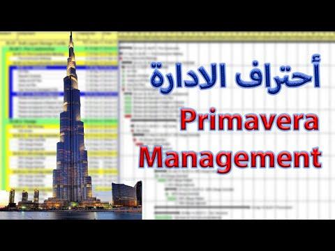 Learning Primavera (P6) 2   شرح احترافى دورة بريمافيرا مهندس/عمر عبدالعزيز