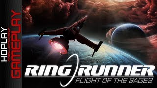 Ring Runner Flight of the Sages - RPG/Space Shooter Action Game Gameplay