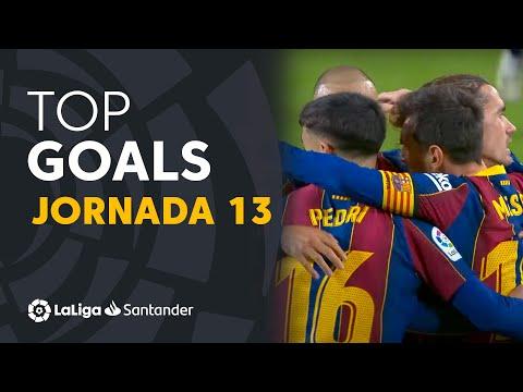 All Goals Matchday 13 LaLiga Santander 2020/2021