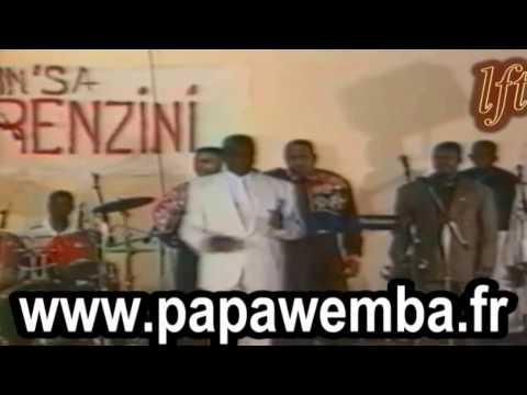 CONGO : ADIOS THETHE : L'HOMMAGE DE PAPA WEMBA A TABU LEY