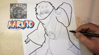 COMO DIBUJAR A SASORI - NARUTO / how to draw sasori - naruto