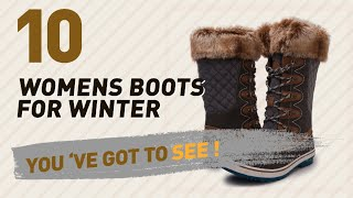 Womens Boots For Winter Collection // New & Popular 2017