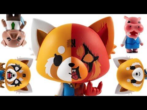 Kidrobot aggretsuko animé Washimi Vinyle Mini Figure Open Box Netflix