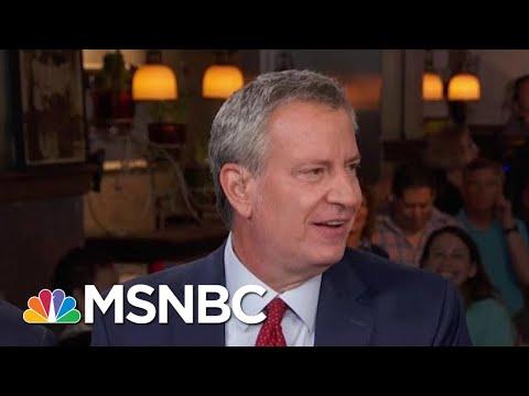 Democrats Need An Identity As A Party: Bill De Blasio | Morning Joe | MSNBC