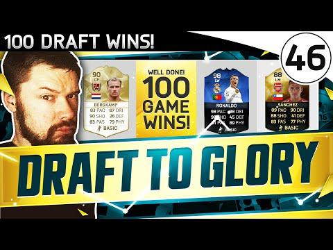 100 DRAFT WINS! - FUT DRAFT TO GLORY #46 - FIFA 16 Ultimate Team