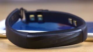 new jawbone up3 fitness tracker band unboxing and setup